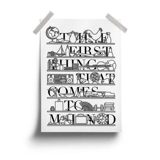 Bless This Mess - A3 Print